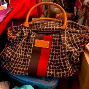 Kate Spade New York brown and red